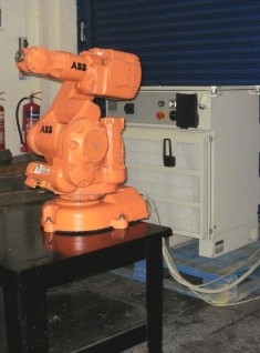 ABB IRB 140 ROBOT WITH S4C+ CONTROLLER